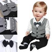SKLADEM - dětský overal, oblek, 80
