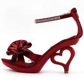 SRDCE - společenské sandálky, 35-41, 35
