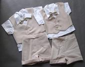 SKLADEM - letní oblek k zapůjčení, 1-2 a 2-3 roky, 98