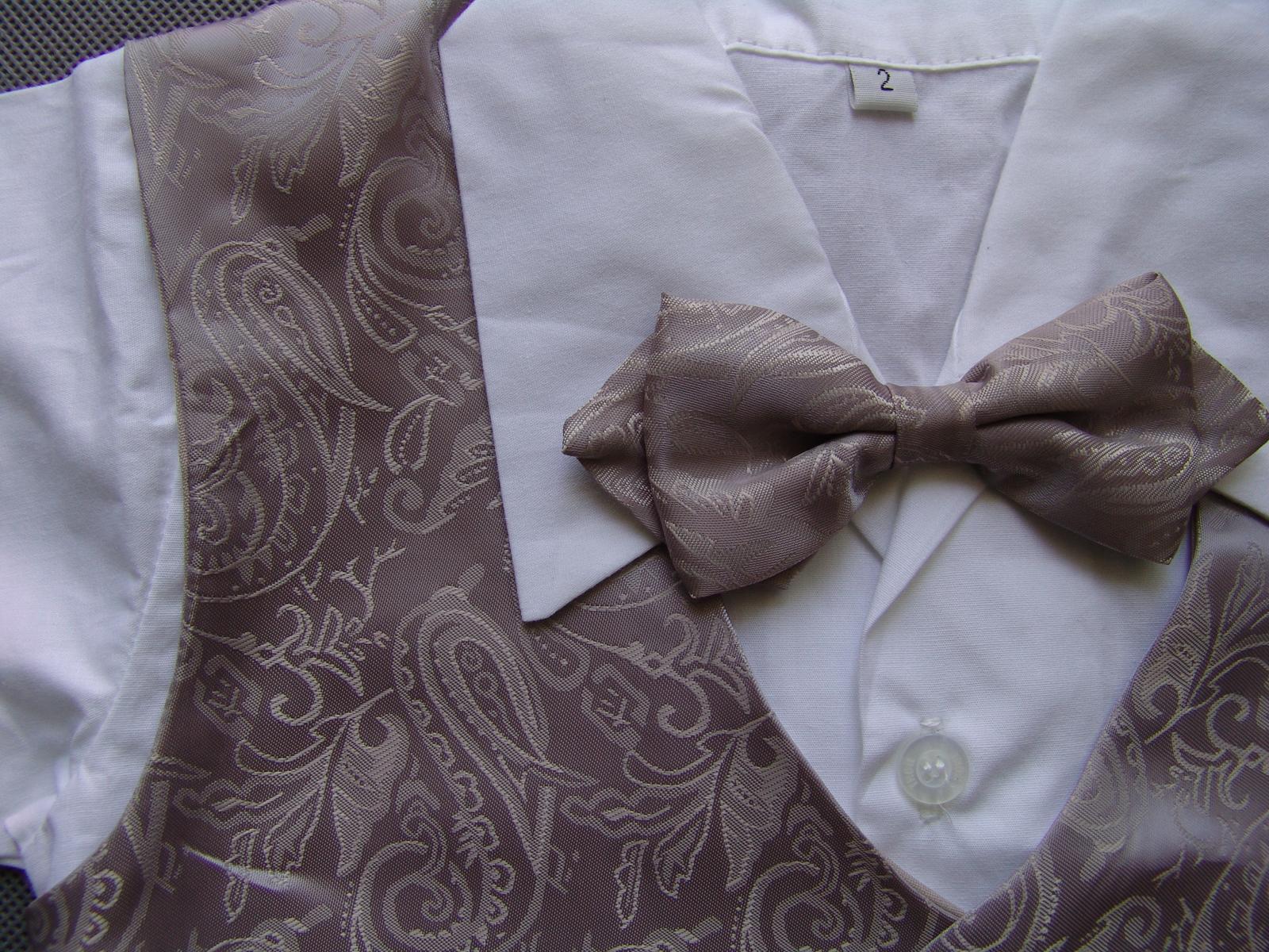 SKLADEM - letní oblek k zapůjčení, 1-2 roky - Obrázek č. 3