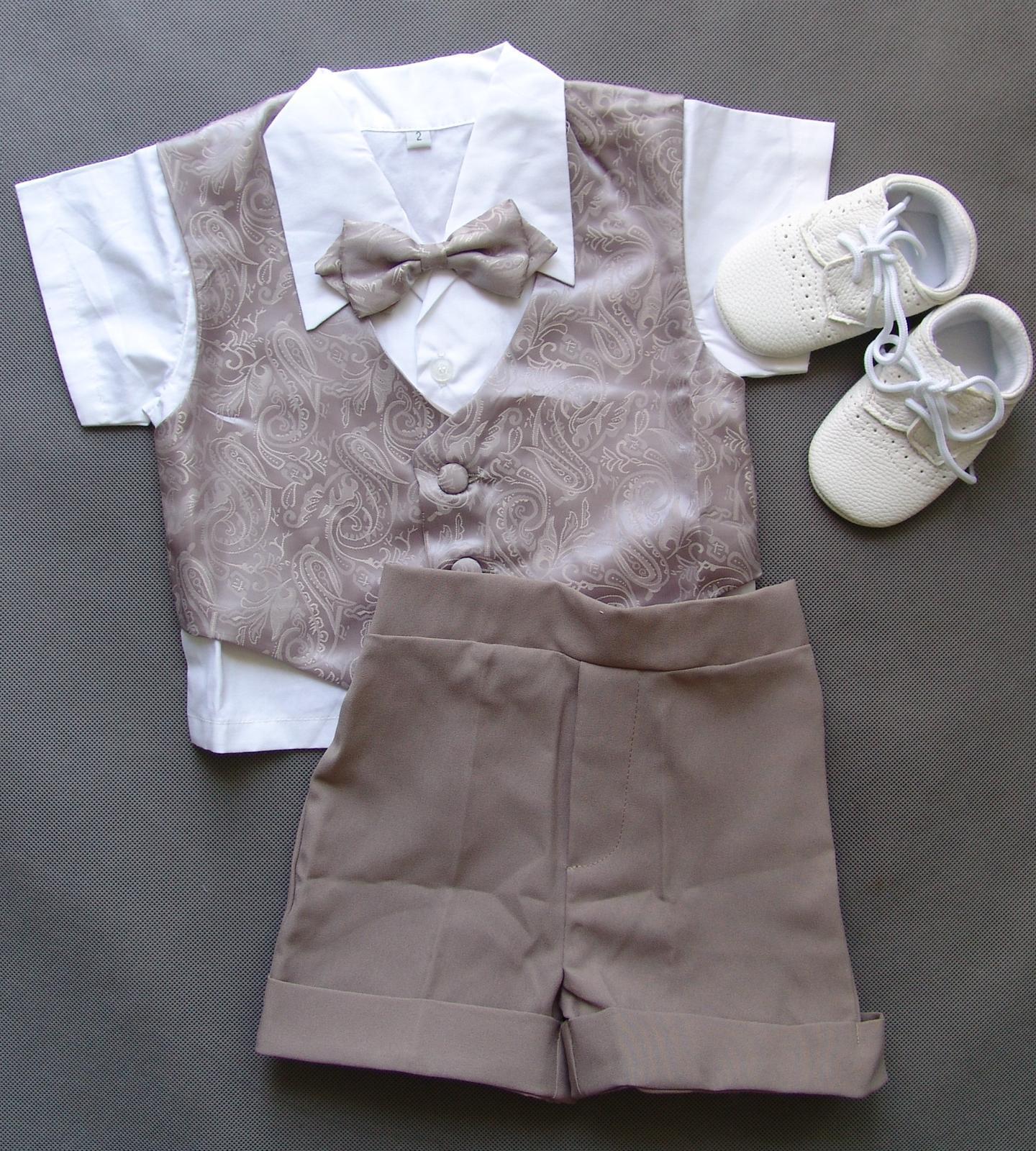 SKLADEM - letní oblek k zapůjčení, 1-2 roky - Obrázek č. 1