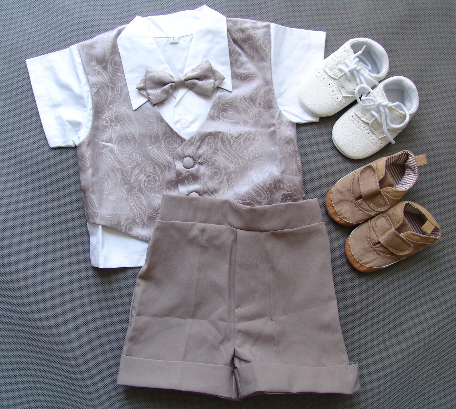 SKLADEM - letní oblek k zapůjčení, 1-2 roky - Obrázek č. 4