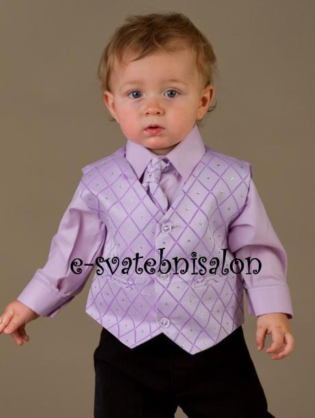 SKLADEM - k zapůjčení lilla oblek, 12m-8let - Obrázek č. 3
