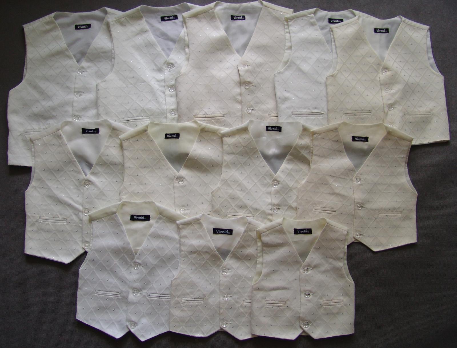 SKLADEM - k zapůjčení ivory oblek, 0-3,9-12, 5 a 6 - Obrázek č. 2
