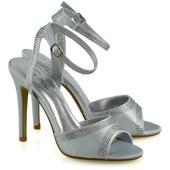 FS - Společenské, svatební sandálky, satén 36-41, 41