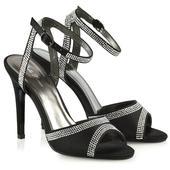 FS - Společenské, svatební sandálky, satén 36-41, 39