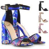 FS - Společenské, svatební sandálky, satén 36-41, 37