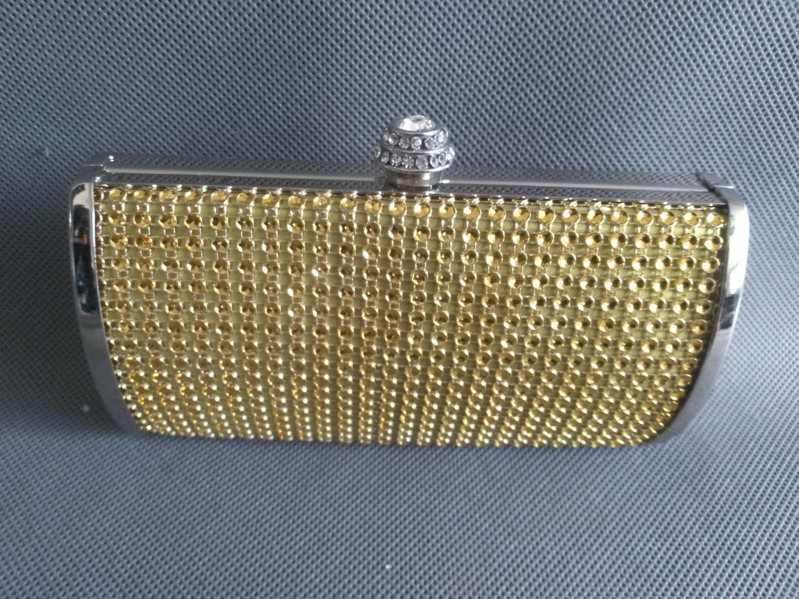 SKLADEM - zlatá kabelka - Obrázek č. 1