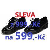 SKLADEM - SLEVA - pánské, dámské, dětské polobotky, 36