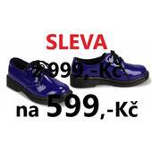 SKLADEM - SLEVA - pánské, dámské, dětské polobotky, 38