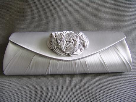 SKLADEM - SLEVA - stříbrná kabelka - Obrázek č. 1