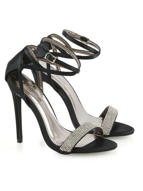 Larissa - svatební, společenské sandálky na podpat - Obrázek č. 4