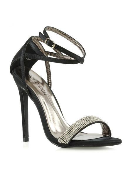 Larissa - svatební, společenské sandálky na podpat - Obrázek č. 2