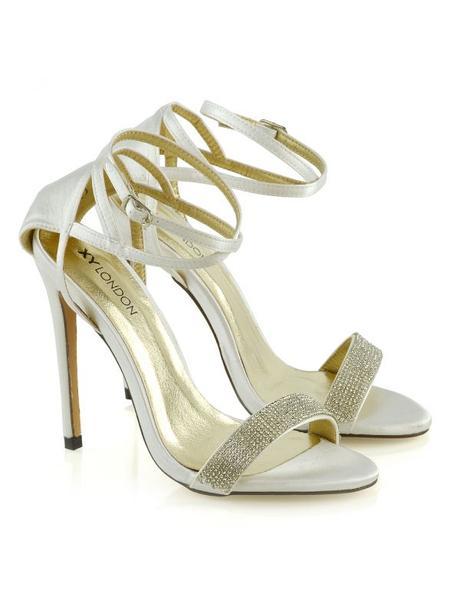 Larissa - svatební, společenské sandálky na podpat - Obrázek č. 1
