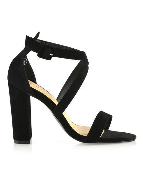 Millie - satén/semiš sandálky - Obrázek č. 3