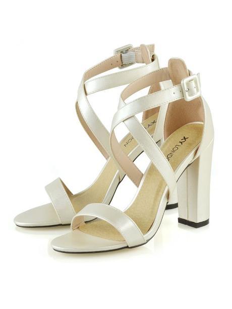 Millie - satén/semiš sandálky - Obrázek č. 1