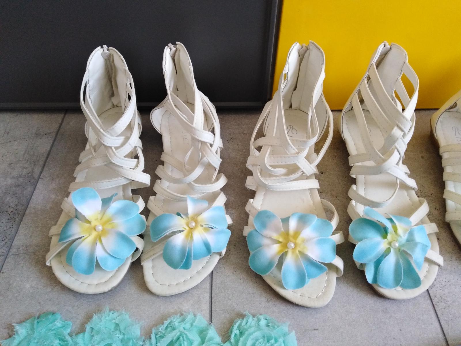 Dívčí boty na svatbu - Obrázek č. 3
