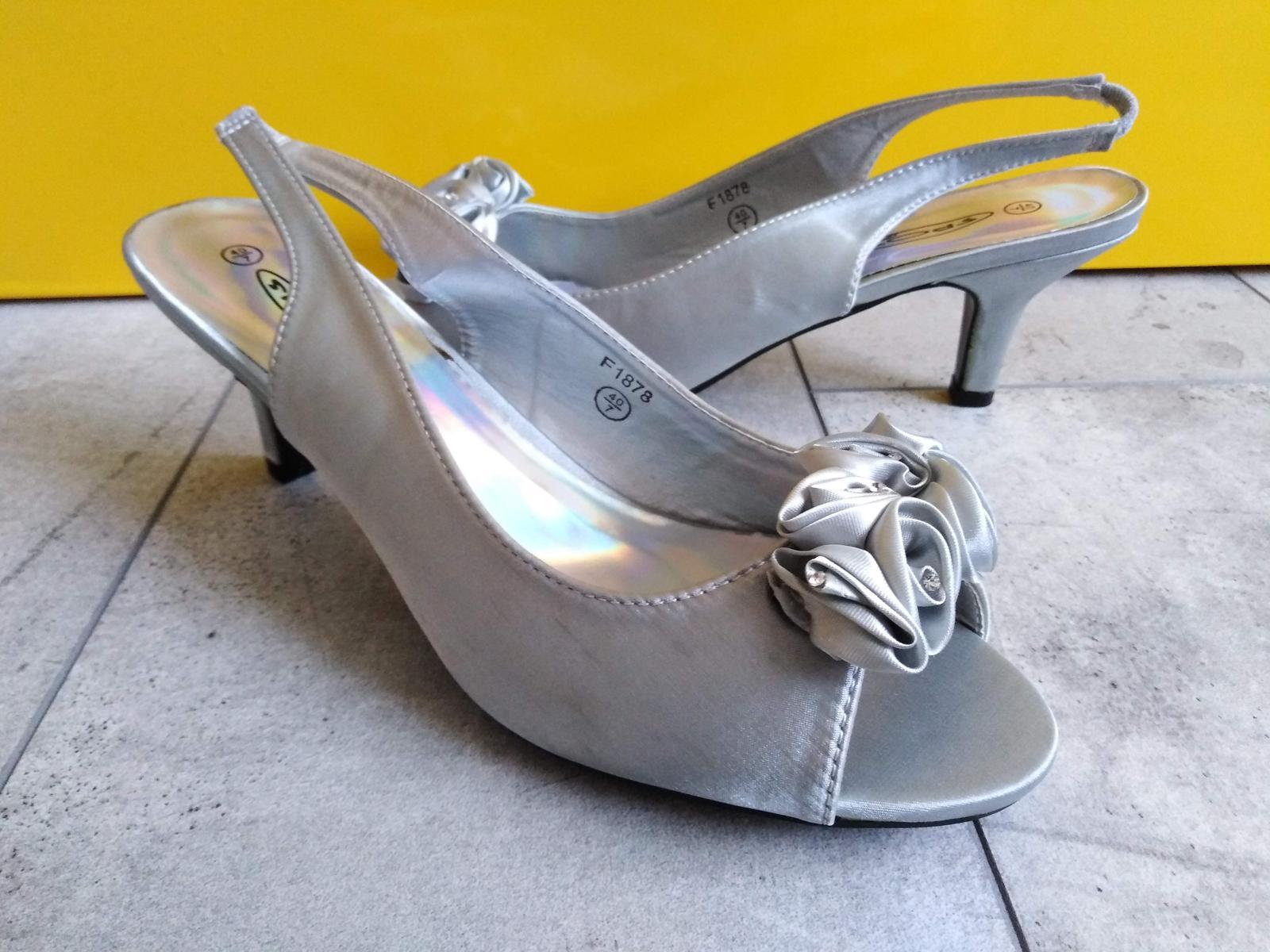 SKLADEM - stříbrné lodičky - Obrázek č. 1