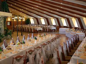 naša svadobná miestnosť
