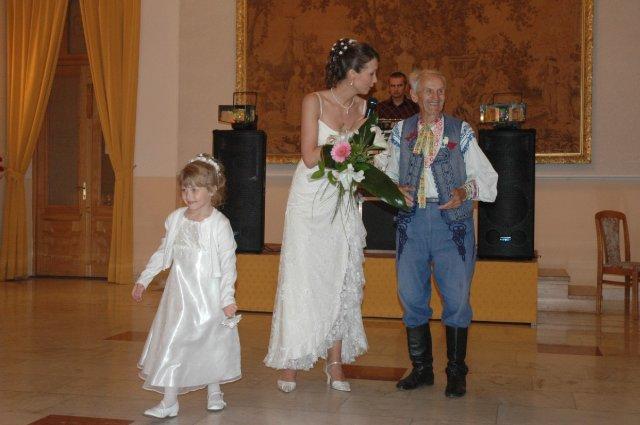 Dana Klamparova{{_AND_}}Richard Bowcott - gratulacia mojemu deduskovi k 85 narodeninam