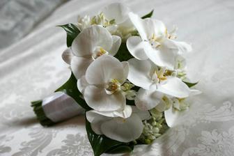 frézie s orchideemi