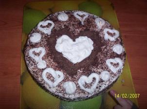 a překvapení pro miláčka k valentýnu ... (vlastní výroba :-D) malý už ho trošku zlikvidoval :))