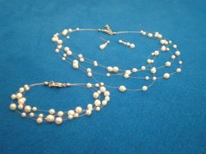 bižuterie -naúšnice,náramek a náhrdelník