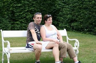 Milenci na lavičce