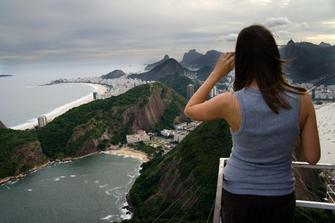 ze svatebni cesty v Brazilii