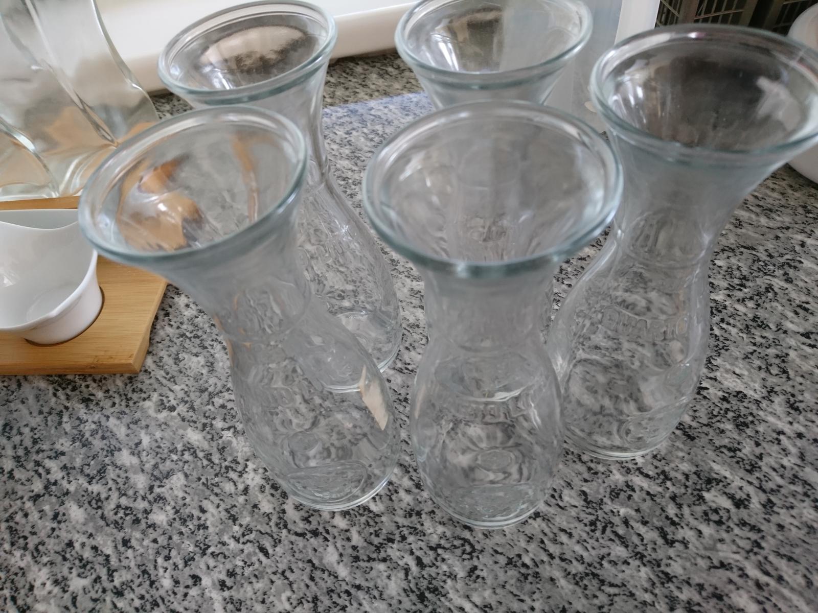 6 pohárov na víno, karafa - Obrázok č. 1