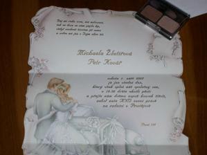 nejkrásnější svatební oznámení na světě a je naše