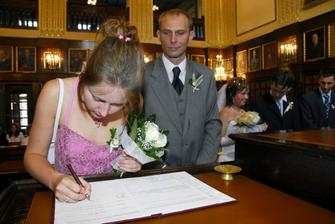 Svědkyně nevěsty Terezka.