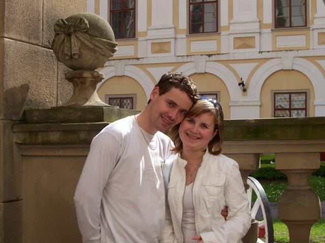 Výlet na zámek v Kroměříži