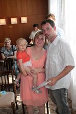 Téměř 8 let po svatbě s naším štěstíčkem :-)