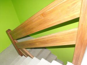 ešte prídu drevené schody