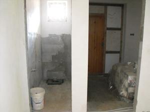 vchod a wc