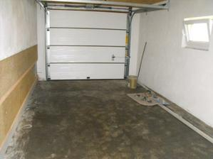 garážová brána zvnútra