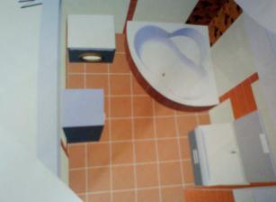 kúpelňa na poschodí