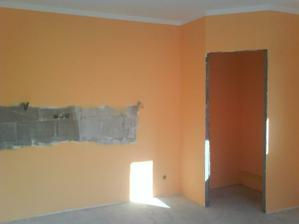 kuchyňa farba marhuľová