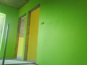 schodište na pravo dve detské izby