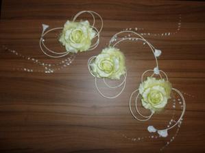 Ozdoby na auto nevěsty... :-)