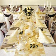 zlato-krémová svatba :-)