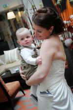 synovec - narozený v den našeho zasnoubení:-)