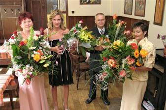... kytičky pro nevěstu ... nádhera ...