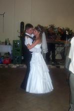 ... taneček s manželem ...