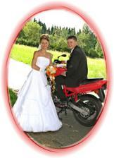 ... motorky jsou jeho láska, samozřejmě až po mě! :o)