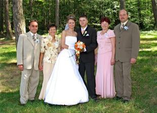 ... foto s rodiči ...