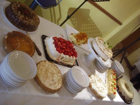 Poznamky - torty zo shower-predvsvadobna fiesta,  adiós, diéta...