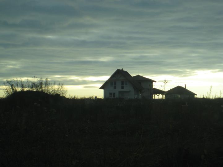 Zapad slnka nad susedmi:)