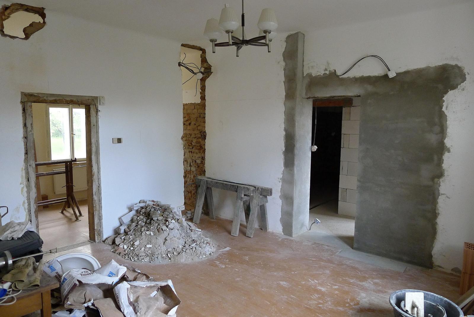 Rekonstrukce našeho domečku - Obrázek č. 23